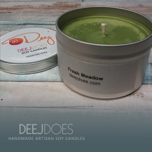 Fresh Meadow Soy Candle by DEEJ DOES