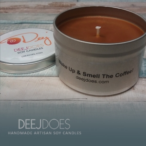 Wake Up & Smell The Coffee Soy Candle by DEEJ DOES